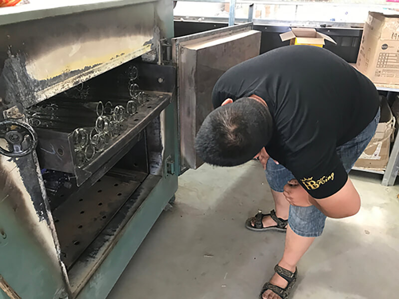 water pipes oven