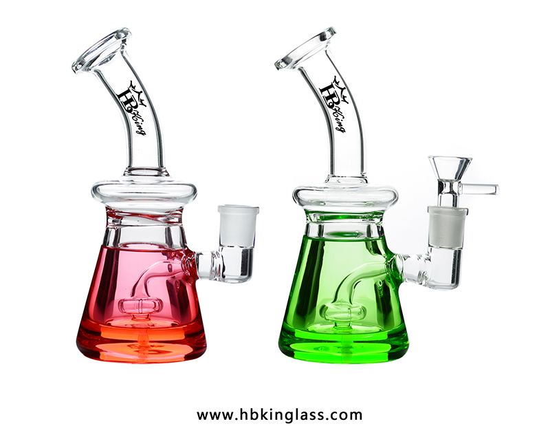 small glycerinum glass water pipes kq10